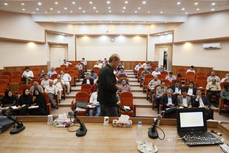 برگزاری دوره آموزشی شرایط عمومی پیمان  توسط کارگروه آموزش ذیل شورای فنی استان