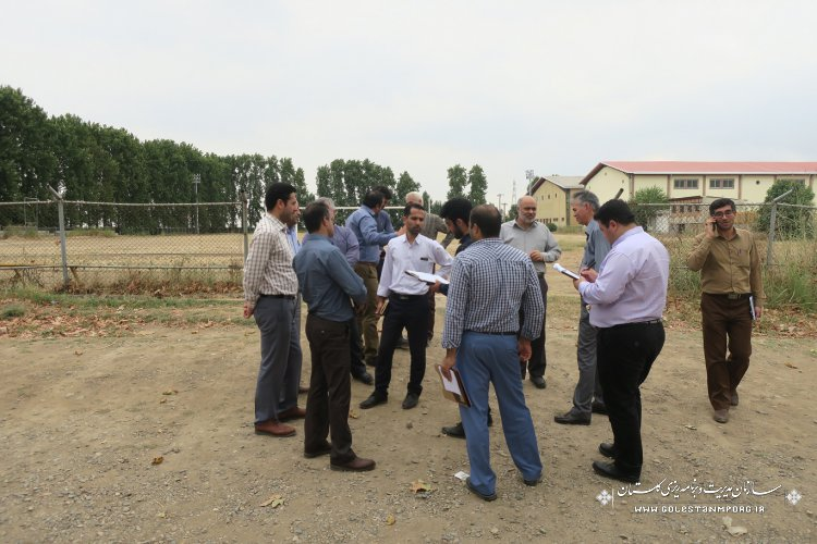 بازدید از پروژه های تملک دارایی های سرمایه ای شهرستان مینودشت توسط گروه نظارت فنی سازمان مدیریت و برنامه ریزی استان گلستان