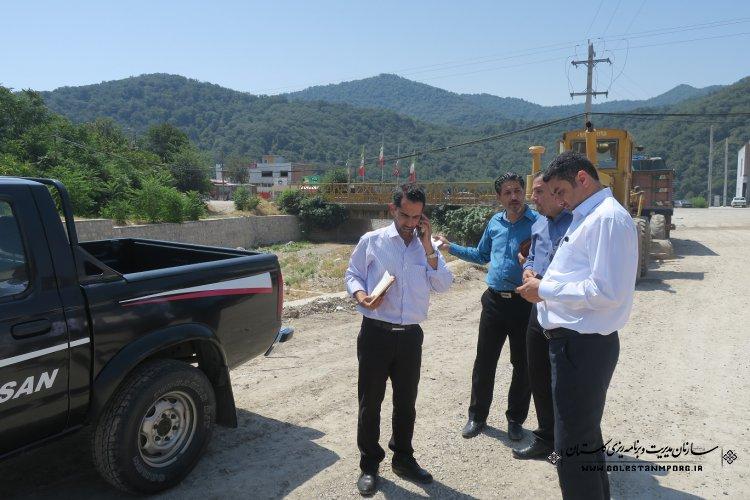 بازدید از پروژه های تملک دارایی های سرمایه ای شهرستان گالیکش توسط گروه نظارت فنی سازمان مدیریت و برنامه ریزی استان گلستان