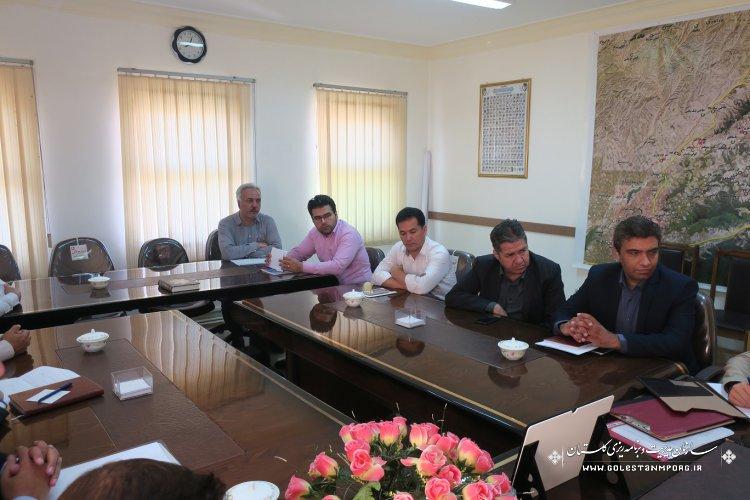 بازدید از پروژه های تملک دارایی سرمایه ای شهرستان کلاله توسط گروه نظارت فنی سازمان مدیریت و برنامه ریزی استان گلستان