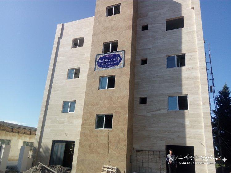 بازدید از پروژه های عمرانی دانشگاه علوم پزشکی استان