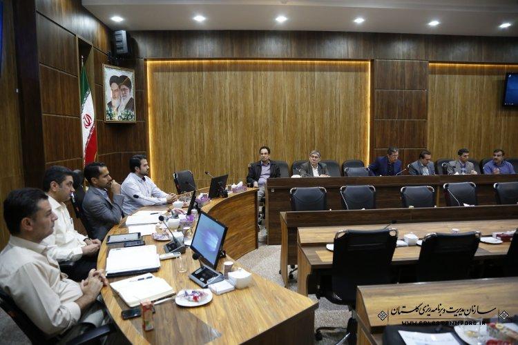 جلسه کارگروه پیمان و ضوابط فنی ذیل شورای فنی استان