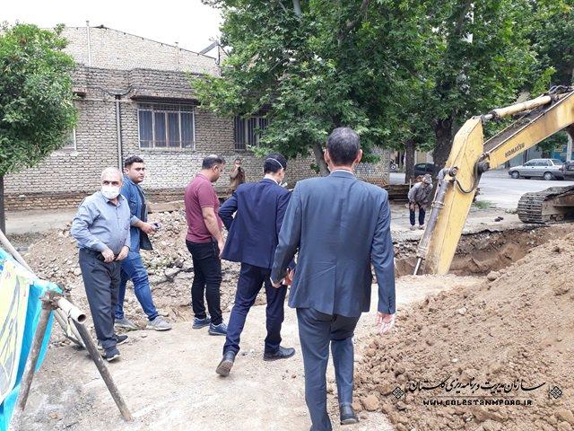 بازدید از شهرداری های گنبدکاووس، آزادشهر و نوده خاندوز
