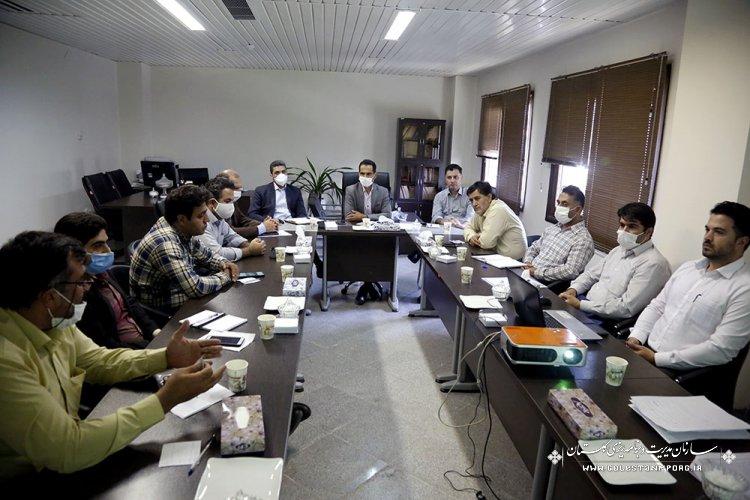 جلسه کارگروه مصالح و تجهیزات صنعت ساخت شورای فنی استان