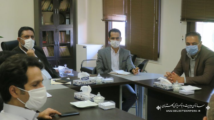 بررسی موضوعات طرح آبرسانی به شهرها و روستاهای نوار مرزی استان از سد نرماب