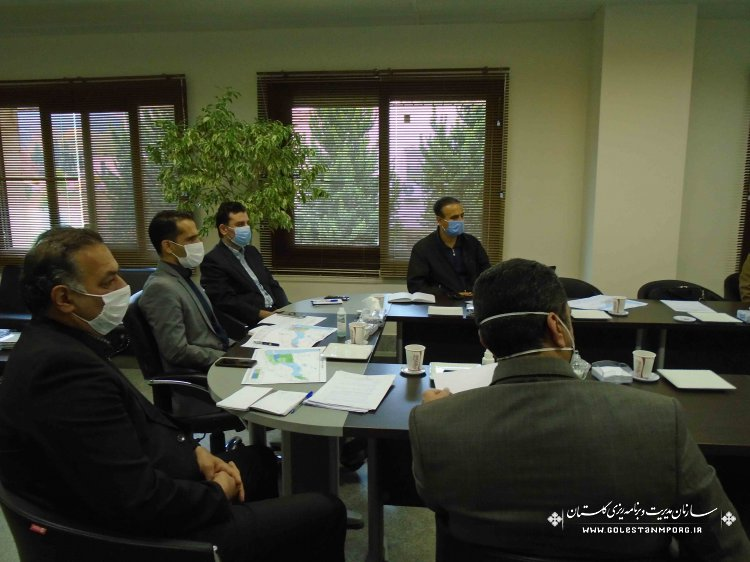 جلسه بررسی عملکرد سازمان جهاد کشاورزی در اجرای طرح زهکشی اراضی 280000 هکتاری استان