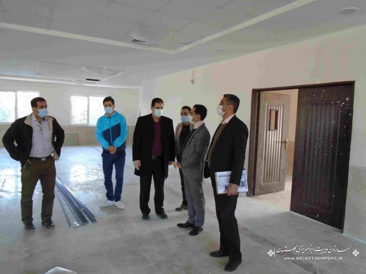 بازدید از پروژه های حوزه سلامت شهرستان گرگان