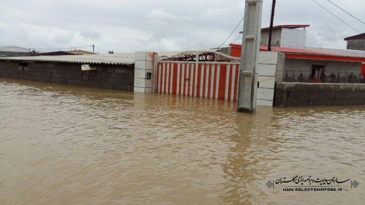 گزارش فنی سیلاب فروردین 98 استان گلستان منتشر شد