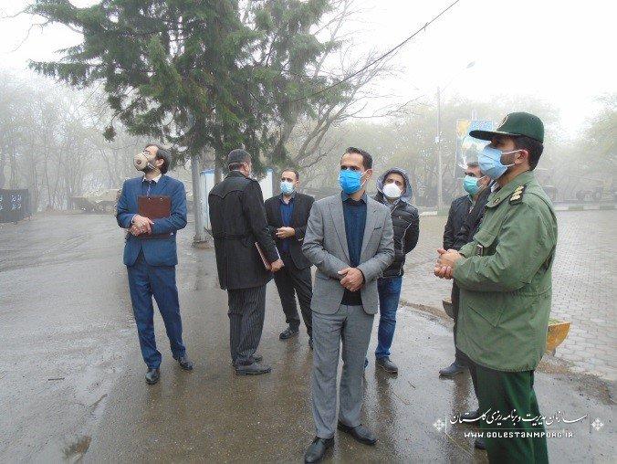 بازدید مدیر نظام فنی و اجرایی استان از پروژه باغ موزه دفاع مقدس