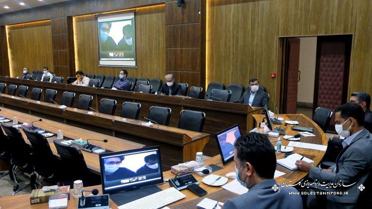 جلسه کارگروه پیمان و ضوابط فنی در خصوص فسخ پیمان پروژه تصفیه خانه فاضلاب آزادشهر