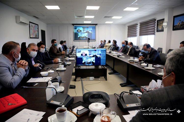 """برگزاری """"دومین جلسه شورای فنی استان در سال 1400"""""""