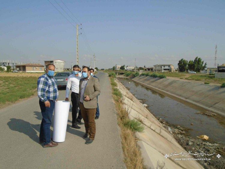 بازدید تیم منتخب کارگروه نظارت از پروژه های مهم شرکت آب منطقه ای